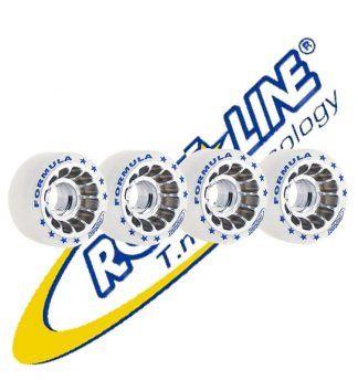 Ruedas roll line Fórmula, diámetro 62mm. dureza 88A.