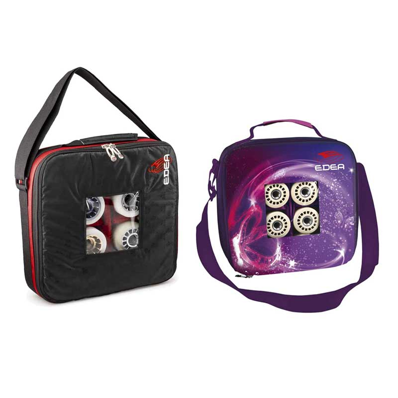 mochila portaruedas edea modelos negra y butterfly.