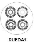 Ruedas Hockey HELYA-TDC